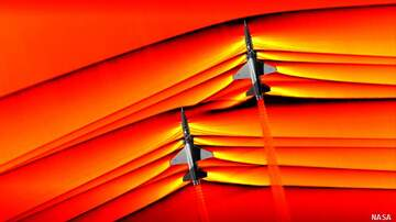 Coast to Coast AM with George Noory - NASA Releases Amazing Images of Interacting Supersonic Shockwaves