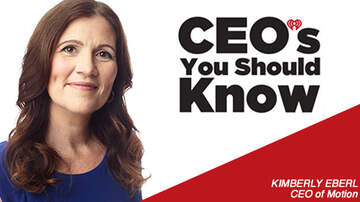 CEO's You Should Know - Kimberly Eberl; CEO of Motion