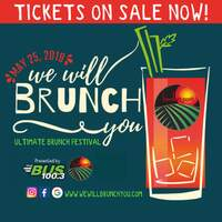 Enjoy Unlimited Sampling of the Best Brunch Foods & Libations!