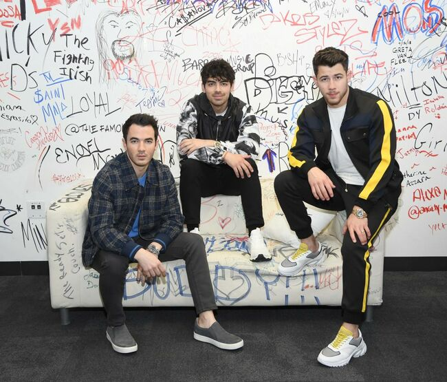 The Jonas Brothers Visit Music Choice
