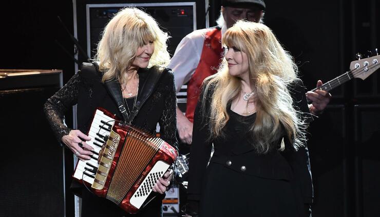 Stevie Nicks Hopes Fleetwood Mac's Legacy Inspires Women In Music