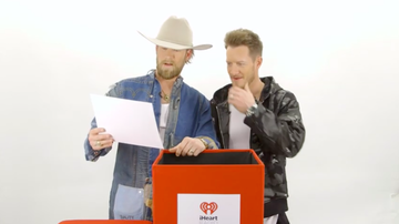 iheartradio-exclusives - Florida Georgia Line Recalls Learning Backstreet Boys Choreography & More