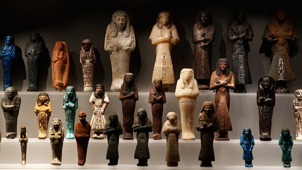 Queens of the Nile Exhibition At Rijksmuseum van Oudheden Photo: Getty Images