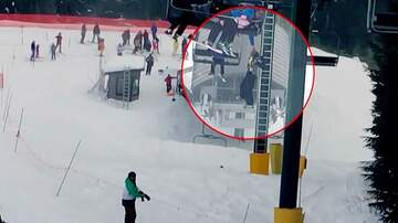 Frank Bell - 8 Year Old Dangles From Chair Lift and Skiers Come to The Rescue