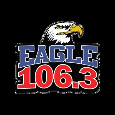 Eagle 106.3 logo