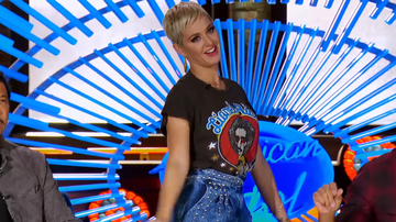 Lindsey Marie - Katy Perry Does 'The Worm' During American Idol Audition