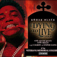 Win A Pair Of Tickets To See Kodak Black March 24th @ Veterans Memorial Coliseum