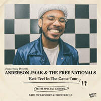 Enter To Win A Pair Of Tickets To See Anderson Paak On June 22nd @ McMenamins Edgefield!