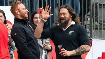Cubby And Carolina In The Morning - Jason Momoa Stopped by a Rugby Game and Took Really Hot Photos