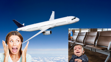 Trending - Plane Forced To Turn Around After Mom Forgets Baby At Airport