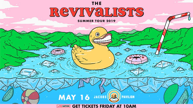 The Revivalists CLE 2019 DL