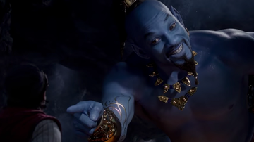 Entertainment News - Full-length 'Aladdin' Trailer: Will Smith's Genie Raps, Gets A Makeover