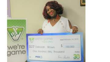 Lynchburg-Roanoke Local News - Virginia woman wins the lottery 30 times in one day