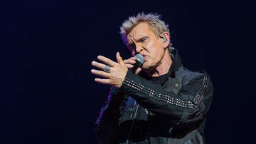 Photos - Billy Idol and Steve Stevens at the Moore Theatre