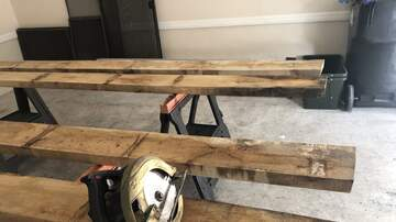 Monsters - Russ' Country Kitchen table- phase 2 & 3