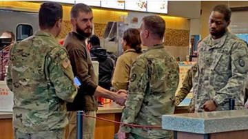 Beth Bradley - Man buys 11 servicemen Chick-fil-A meals in honor of late veteran brother