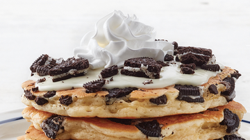 Bobby Bones - Food World: IHOP Is Selling Oreo Pancakes With Cupcake Icing