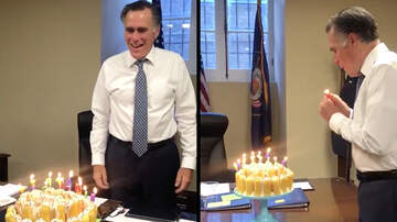 Big Mad Morning Show - Mitt Romney Blows Out Candles Like An Alien