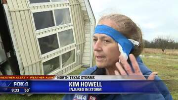 The Russ Martin Show - Modular Home Blown onto Car in Early Morning Storm