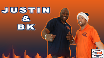 Broncos All-Access - Justin & BK Go Hard With Dad Jokes