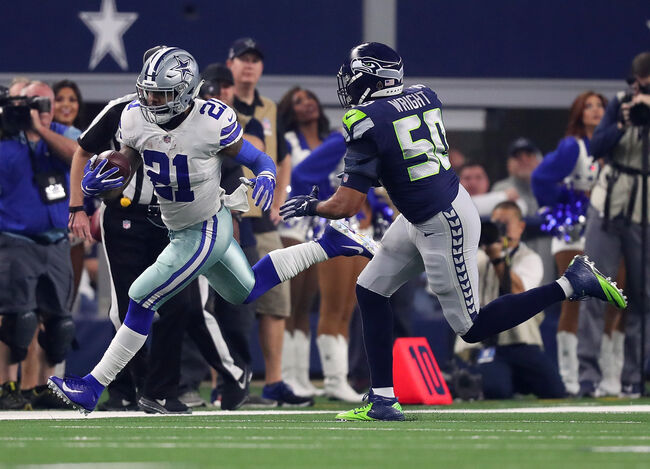 Wild Card Round - Seattle Seahawks v Dallas Cowboys
