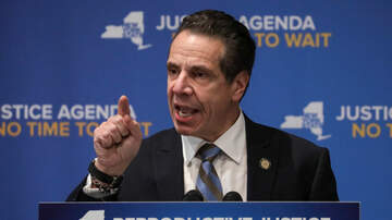 Len Berman and Michael Riedel in the Morning - Governor Cuomo Says No Budget Deal Without Tax Cap