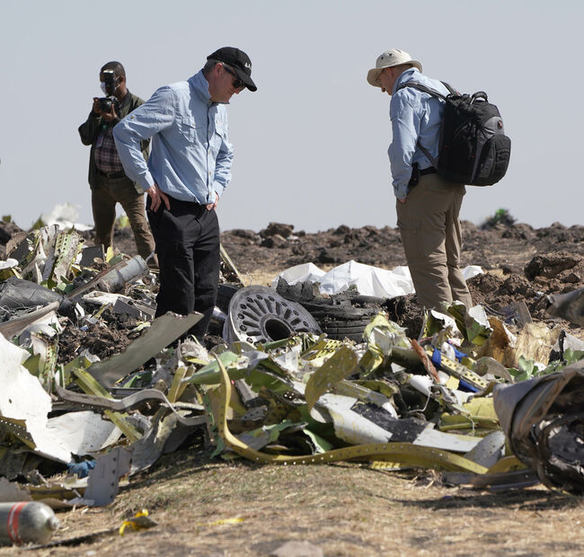 French authorities to examine black box data and lead investigation into Boeing 737 Max 8 crash