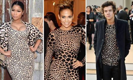 Trending - Wild Fashion: 15 Celebs Rocking Leopard Print