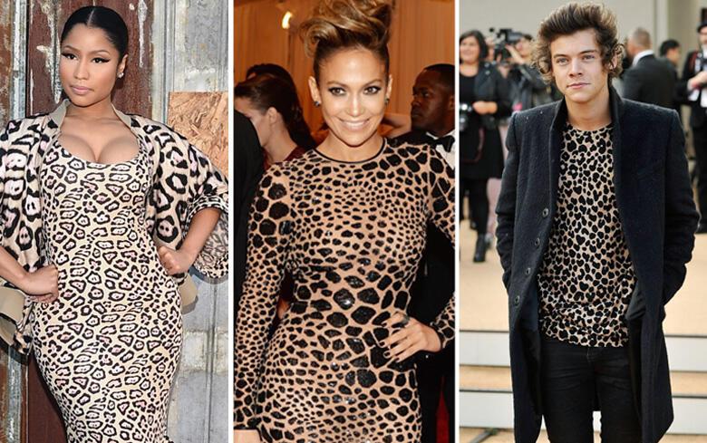 Wild Fashion: 15 Celebs Rocking Leopard Print