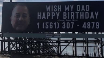 Qui West - LOL Dad Receives Over 15,000 Calls, After Sons' Birthday Billboard!