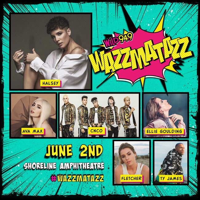 The WiLD 94.9 WAZZMATAZZ Lineup Was Just Announced & Is Amazing!!