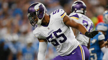 Vikings - Relieved Barr remains a Viking after uneasy pledge to Jets | KFAN 100.3 FM