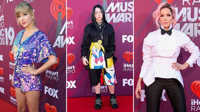2019 iHeartRadio Music Awards Red Carpet Looks