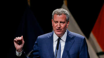 Len Berman and Michael Riedel in the Morning - Mayor Bill de Blasio Urges People To Get Vaccinated