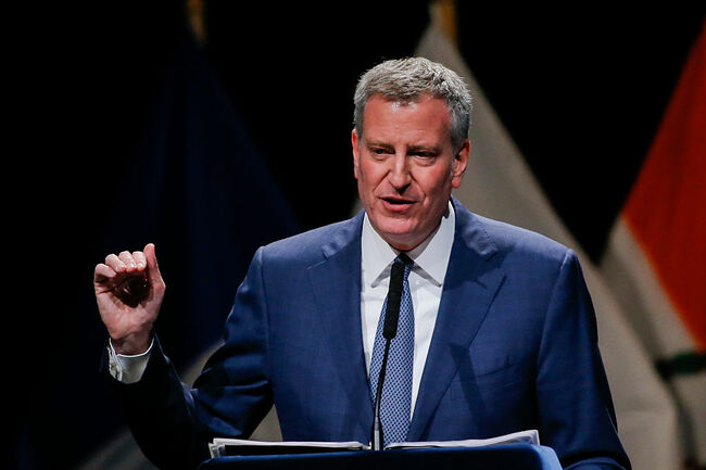 Mayor Bill De Blasio Gives His Annual State Of The City Address