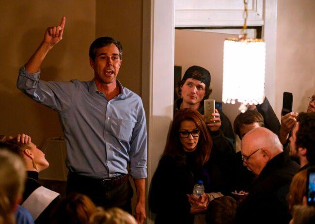 US-POLITICS-ELECTION-VOTE-2020-O'ROURKE