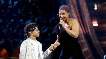 Angie Martinez - Alicia Keys & Her Sons Stole The Show At iHeart Radio Awards