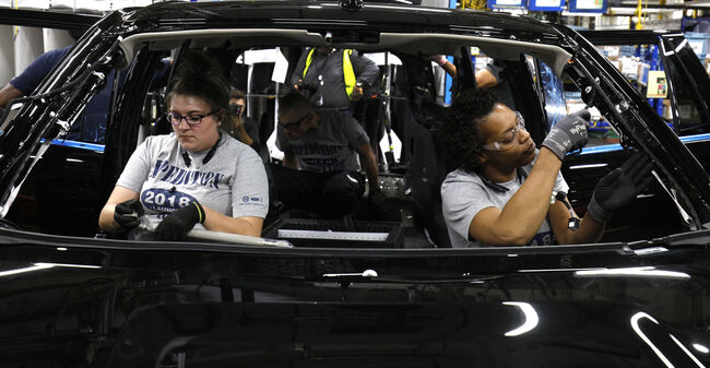 Ford Kentucky's Truck Plant Rolls Out New Ford Expedition