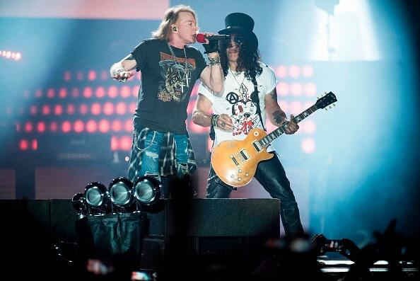 Guns N' Roses Given Award For 'Not In This Lifetime' Tour