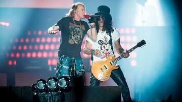 Martha Quinn - Guns N' Roses Given Award For 'Not In This Lifetime' Tour