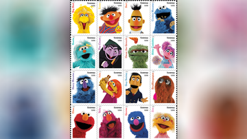 National News - U.S. Postal Service To Release 'Sesame Street' Stamps in 2019