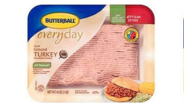 National News - Butterball Recalls 39 Tons Of Ground Turkey After Five People Got Sick