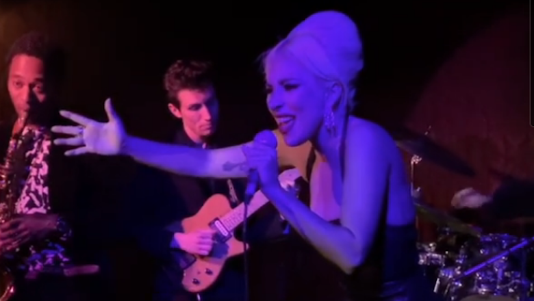Lady Gaga Surprises Hollywood Jazz Club With Frank Sinatra Hits: Watch