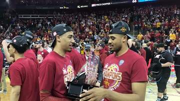 Dave Sprau - VIDEOS: ISU Wins Big 12 Tournament Title