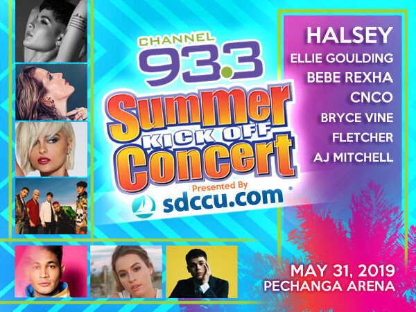 2019 Channel 93.3 Summer Kick Off Concert in San Diego