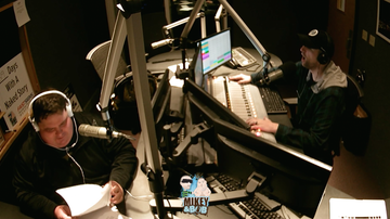 The Morning Freak Show - Mikey and Bob react to office bracket printing day