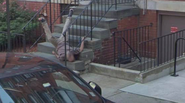 The KiddChris Show - Google Maps Shows Hoboken Man Falling Down His Apartment Steps