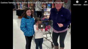 Jess Live - White School Clerk Spits At Black Couple And CallsThem The N-Word [Video]