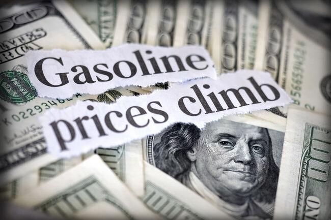 gasoline prices climb