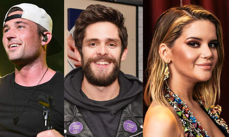 Photos - See How Your Favorite Country Stars Spent The Weekend
